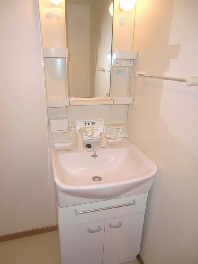 ラフレシール城南 02090号室の洗面所