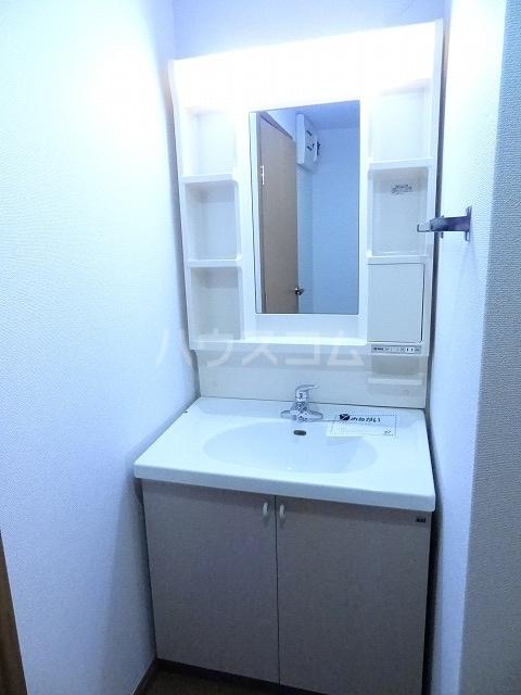 ル・グランヴェールB 02020号室の洗面所
