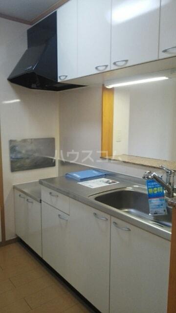 ボンヌシャンス c 02040号室のキッチン