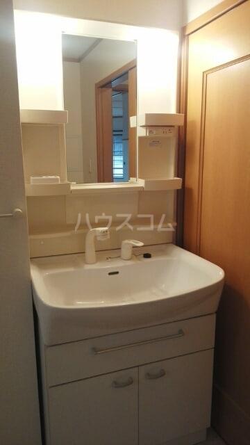 ボンヌシャンス c 02040号室の洗面所
