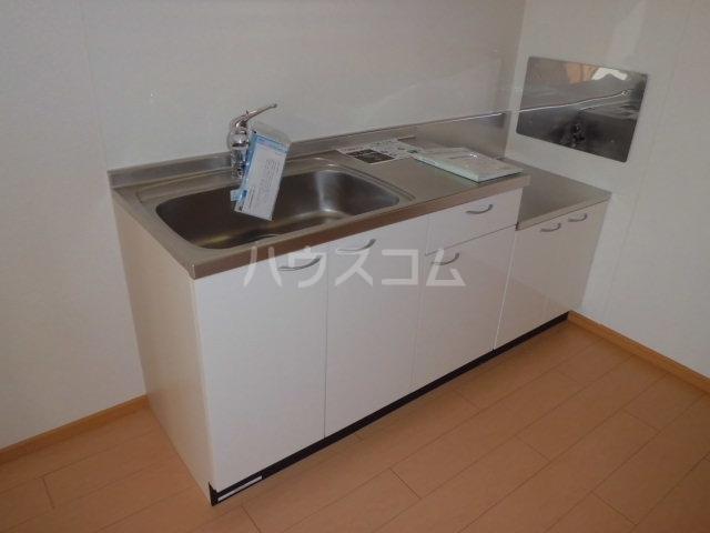 ラ・テール 01020号室のキッチン