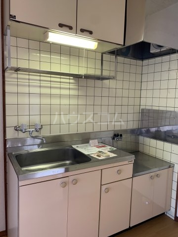 グリーンハイツD 02040号室のキッチン