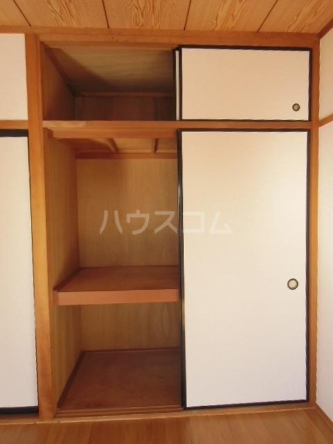 グリーンハイツD 02040号室の収納