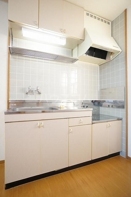 ニューシティ萩 01020号室のキッチン