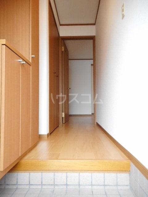 グランリヴァ B 01030号室の玄関