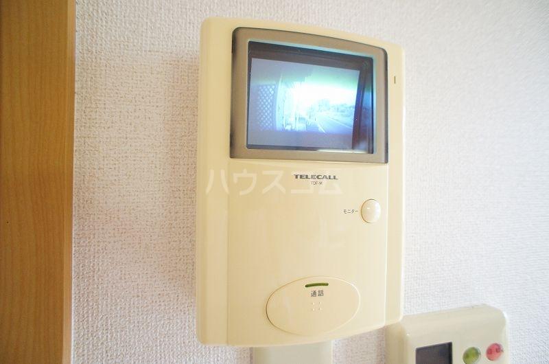 アンソレイエ A 02030号室のセキュリティ