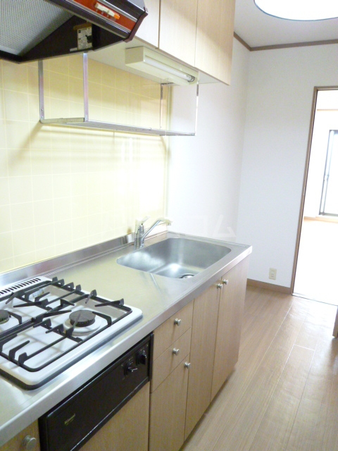 メゾンプレステージⅡ 307号室のキッチン