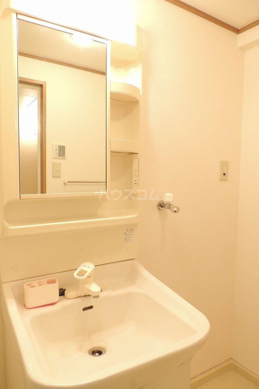 マーヴェラス太田 01020号室の洗面所
