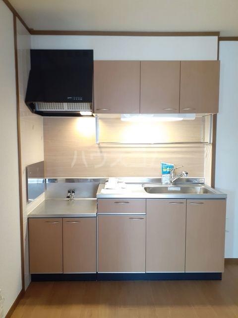 グランシャリオA 01030号室のキッチン