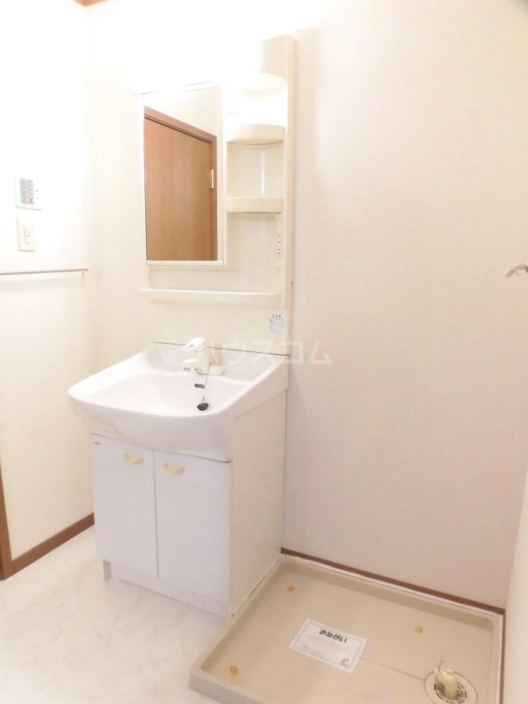 キャトルセゾン Ⅱ 02040号室の洗面所