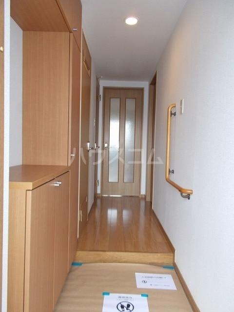 エル・ファーレA 02030号室の玄関
