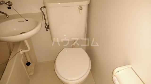 シェルム豊岡 105号室のトイレ
