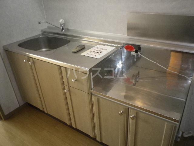 毛呂山ヒルズ 202号室のキッチン