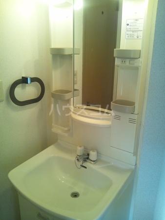 毛呂山ヒルズ 202号室の洗面所