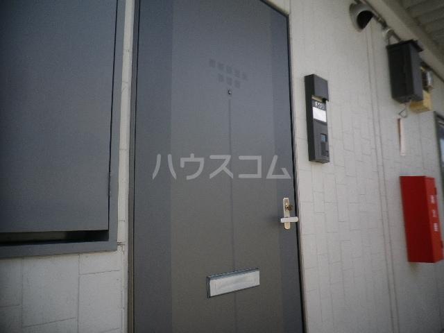 毛呂山ヒルズ 202号室の玄関