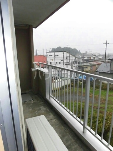 East Hill 03010号室のバルコニー