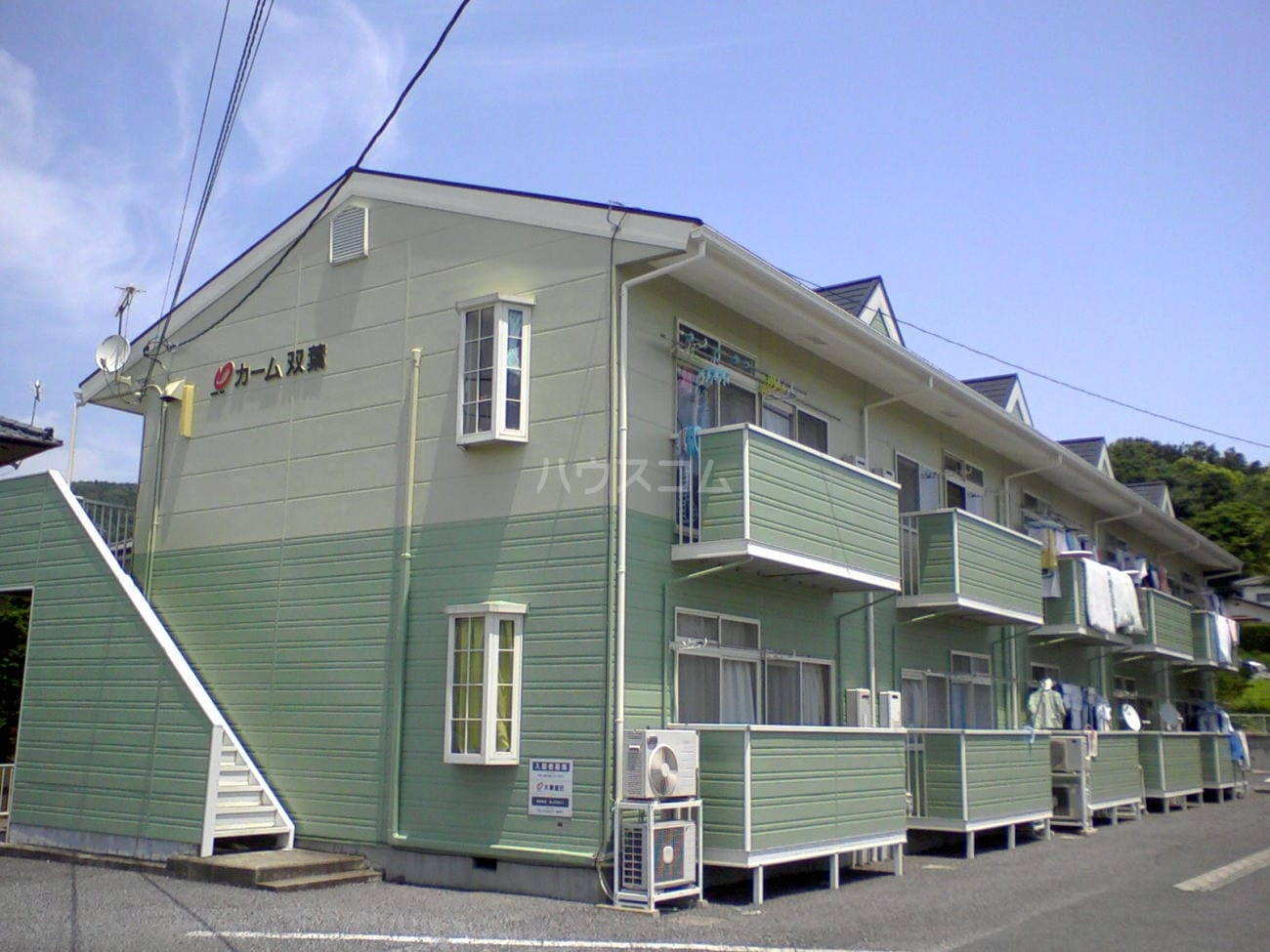 カーム双葉 02030号室の外観