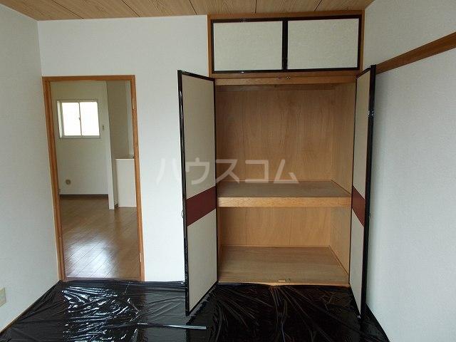カーム双葉 02030号室の収納