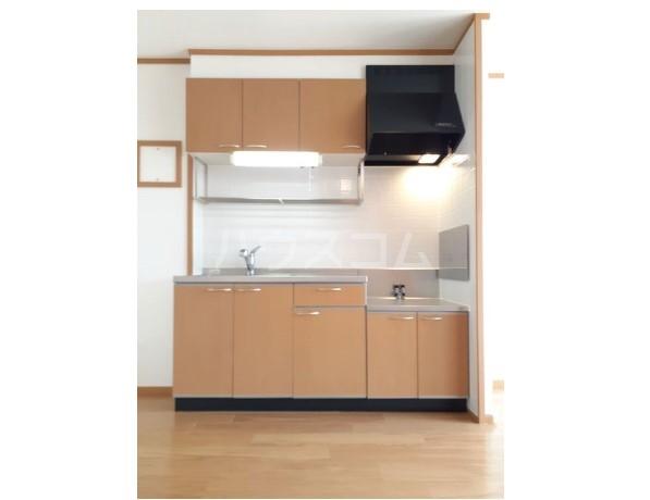ピュア ミキ A 02030号室のキッチン