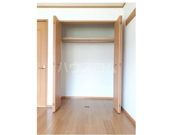 ピュア ミキ A 02030号室の収納