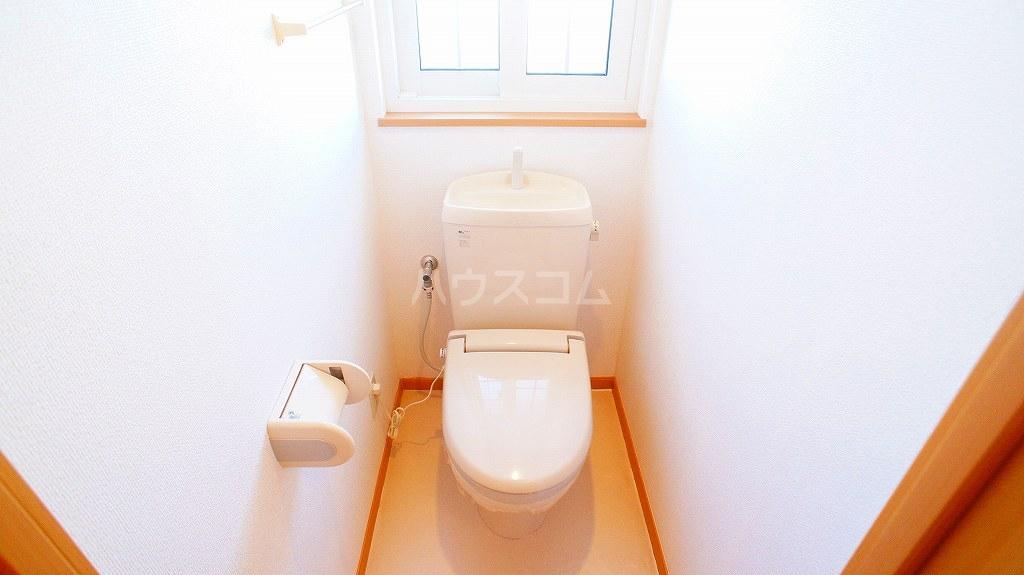 ソルフィ- E 02020号室のトイレ