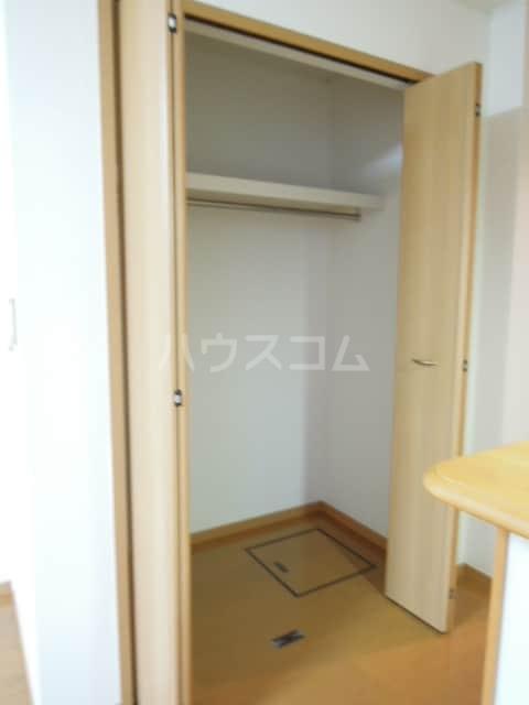 トゥェルブ チャ・チャ・チャ 01020号室の収納