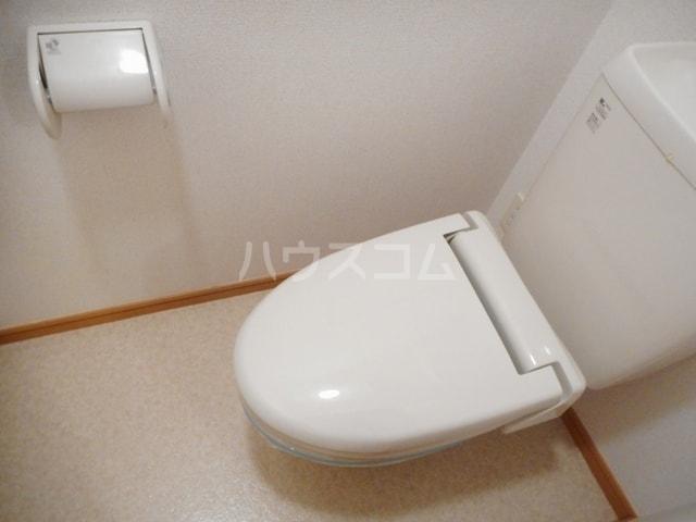 ハーヴェストヒルA 01010号室のトイレ