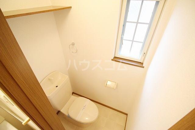 リバー・イースト・飯倉B 02040号室のトイレ