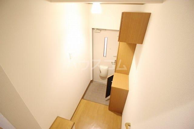 リバー・イースト・飯倉B 02040号室の玄関