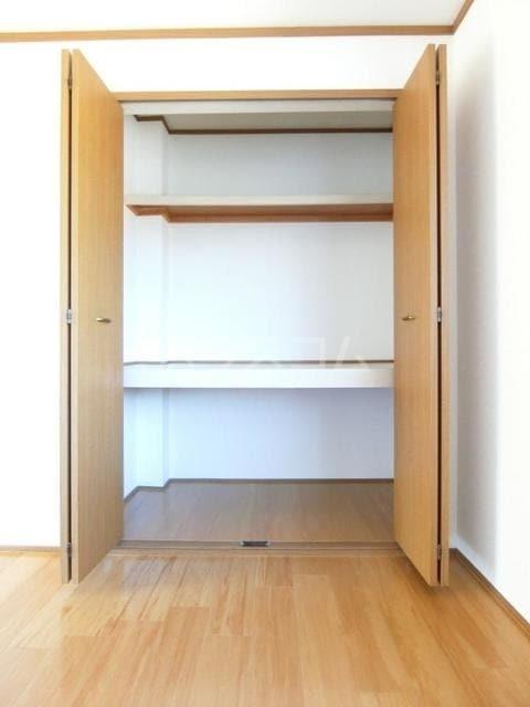 ヴィルヌーブ 01020号室の収納