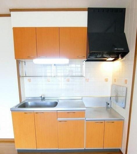 ヴィルヌーブ 01020号室のキッチン