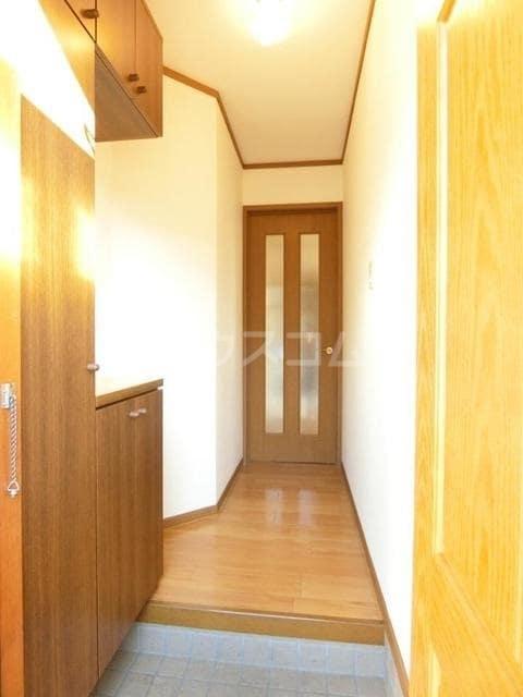 ヴィルヌーブ 01020号室の玄関