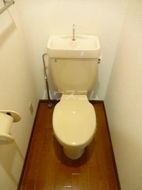 オーシャンフォーレ 01010号室のトイレ