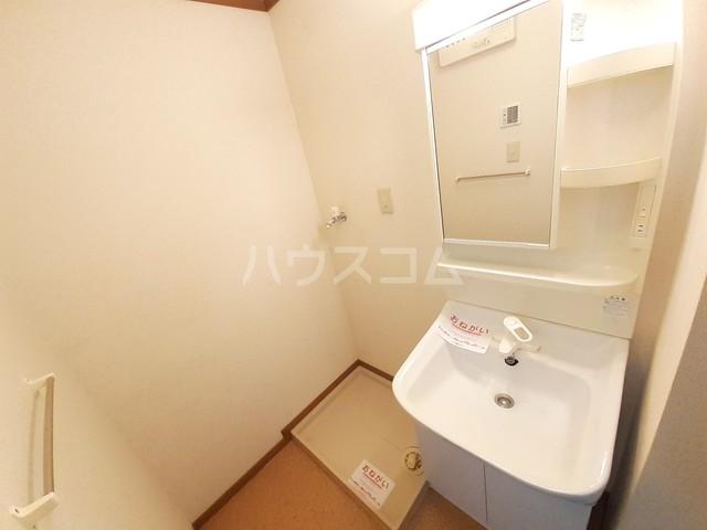 西小路ハイツⅢ 01010号室の洗面所