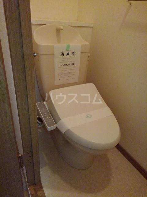 HYコート宮脇 03020号室のトイレ