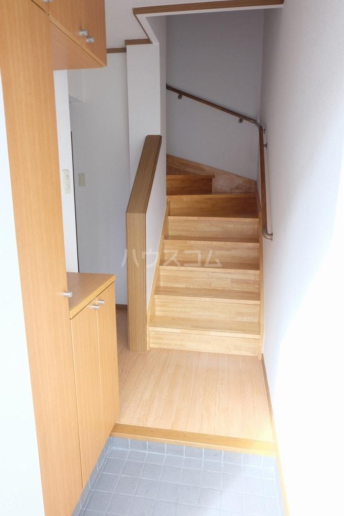 エヴァーグリーン 02010号室の玄関