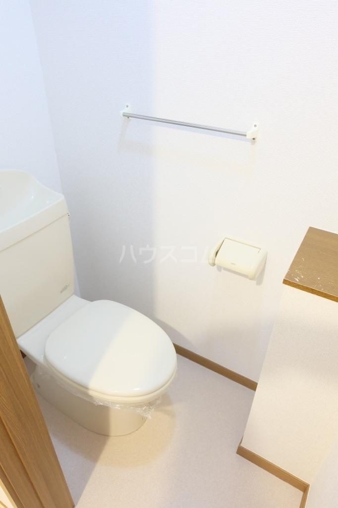 エヴァーグリーン 02010号室のトイレ