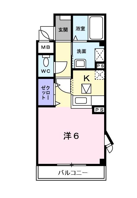 メゾン・エトワールⅡ・01010号室の間取り