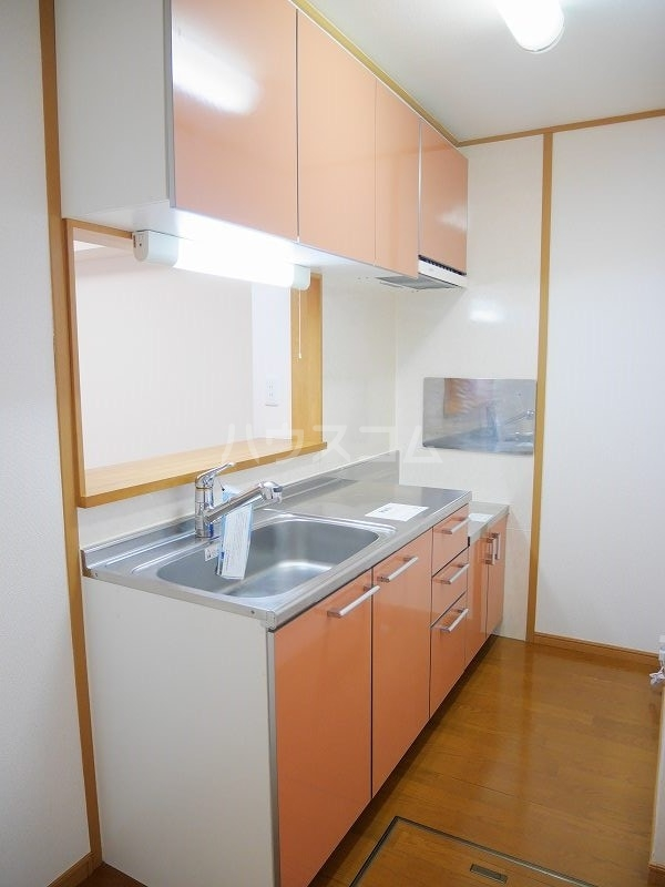 ジェントリーⅠ 01030号室のキッチン