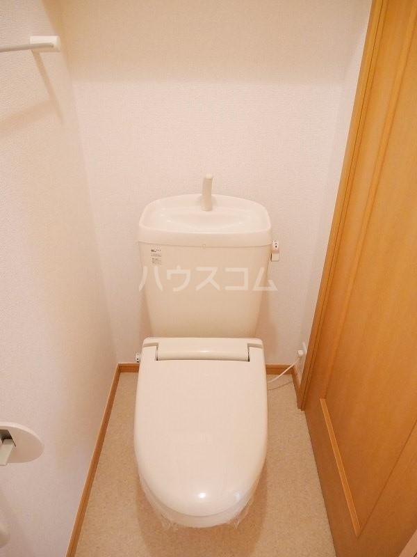 ジェントリーⅠ 01030号室のトイレ