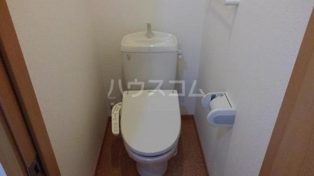 ソレアード・カーサⅡ 01010号室のトイレ