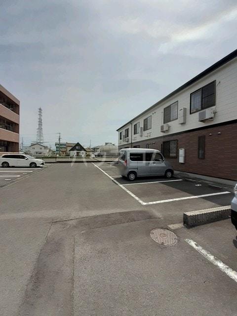 エスポワールHATA Ⅰ 02020号室の駐車場