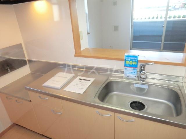 M.Kマンション Ⅷ 01020号室のキッチン