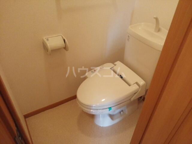 スカイヒルズC 02010号室のトイレ