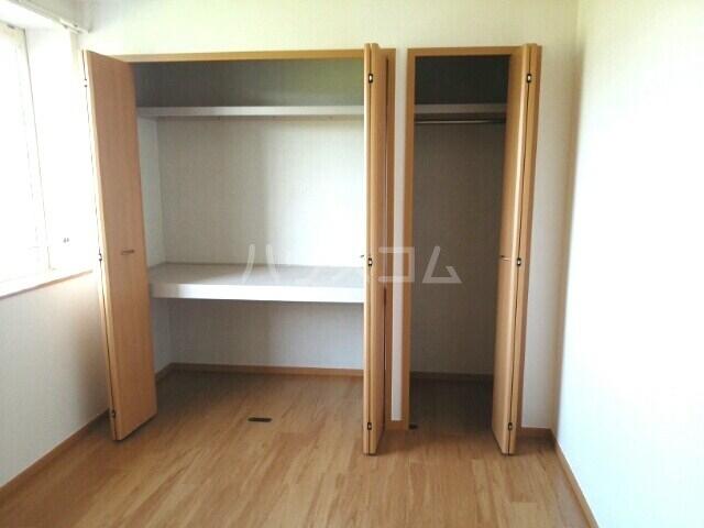 スカイヒルズC 02010号室の収納