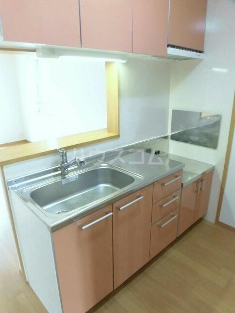 プロムナード 牛川通 D 02040号室のキッチン