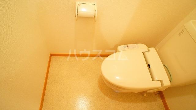 グリーンパークヒルズB 02030号室のトイレ