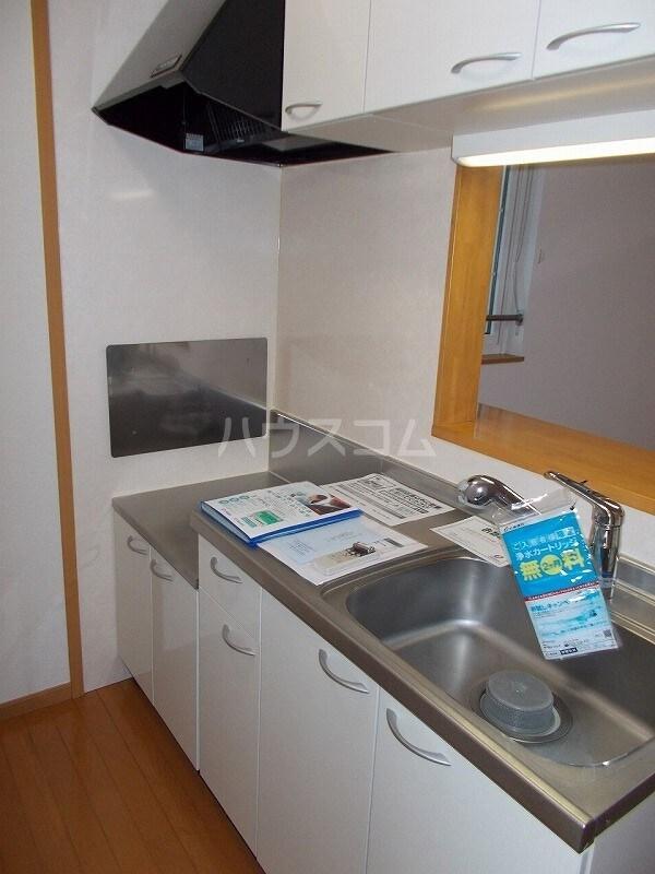 コウハイムⅠ 02010号室のキッチン