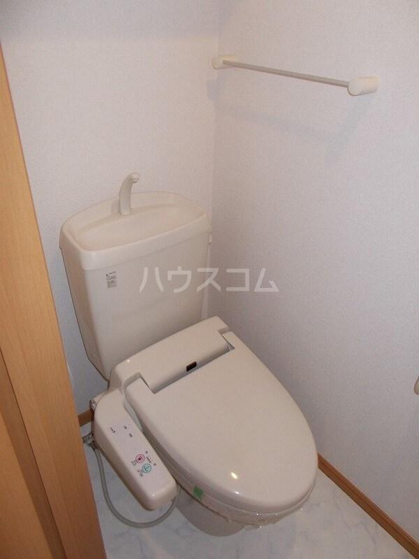コウハイムⅠ 02010号室のトイレ