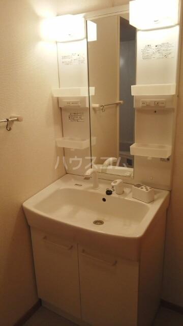 リリー ベル 01020号室の洗面所